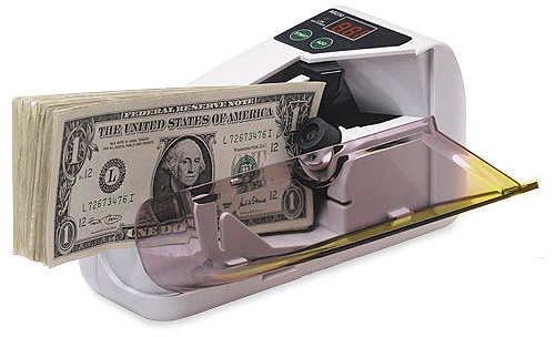 accucounter portable cash counter
