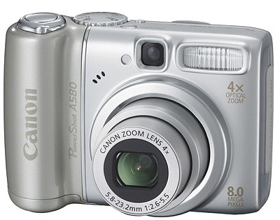 Canon Powershot A580 Review