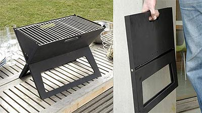 folding grill