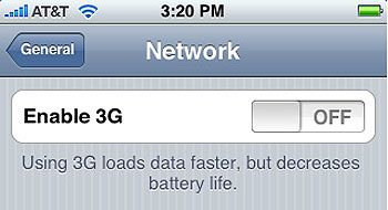 iphone 2.0 firmware supports 3G