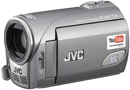 JVC GZ-MS100 camcorder uploads to YouTube