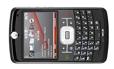 Motorola Q9c on Verizon