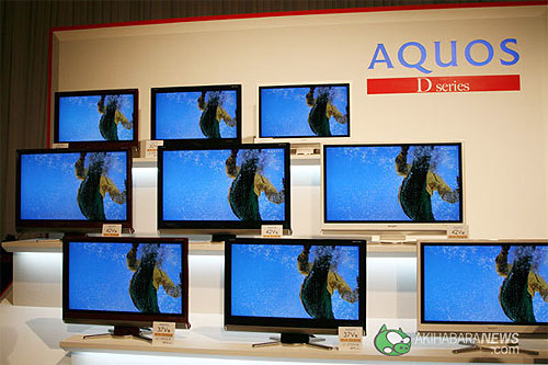new sharp aquos tvs