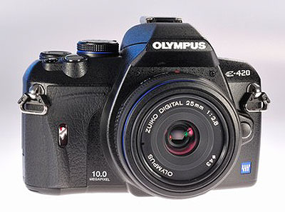 Olympus E-420 Review